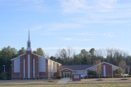 The Starkville church building