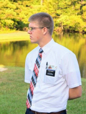 Elder Canty striking a pose