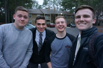 Elder Foudy and Olsen came to visit!