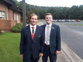 Elder Robertson served with him back in Clanton